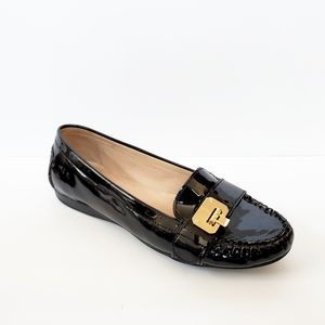 Cole Haan Black Patent Leather Tali Loafer